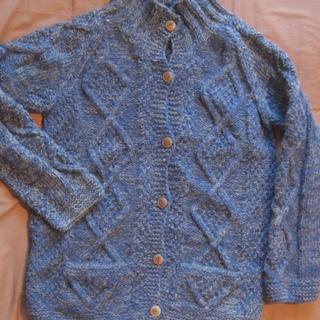 chahat(チャハット)ネパール製手編みアウター カーディガン