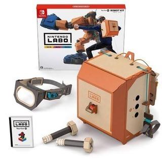 【組立済】Nintendo Labo ロボットキット