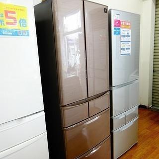 【SHARP】1年保証付き!!6ドア冷蔵庫売ります!
