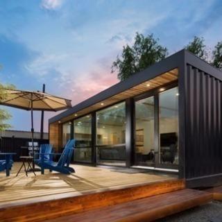 宿泊施設やカフェコンテナハウスで実現