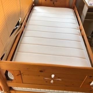 シングルベッド (木製)