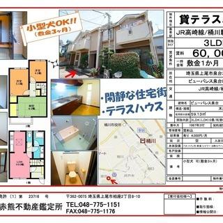 ビューパレス泉台B棟 2号室 上尾市泉台 貸テラスハウス