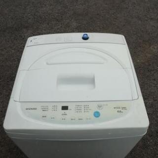 2016年製 4.6㎏洗濯機 DW-P46CB