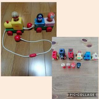 ☆アンパンマン木の列車のおもちゃ☆