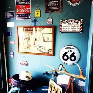 西イオン近くの barber shop