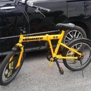 ハマー折り畳み自転車