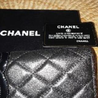 シャネルカンボン財布