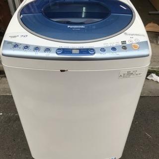 洗濯機 Panasonic 7kg洗い ファミリーサイズ エコウォ...