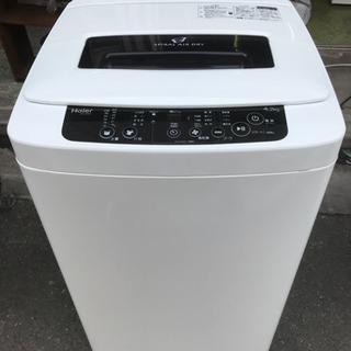 洗濯機 ハイアール 4.2kg洗い JW-K42H 2014年 単...