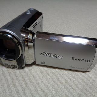 ビクター Everio ダブルメモリームービー GZ-MS120-S