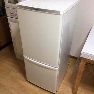 [美品]パナソニック  138L冷蔵庫  NR-BW145C  単身用