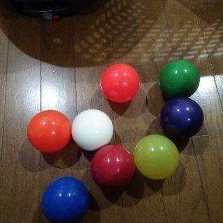 ジャグリングボール7つほど