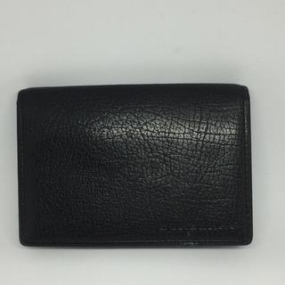 バーバリー 黒レザー カードケース 名刺入れ パスケース