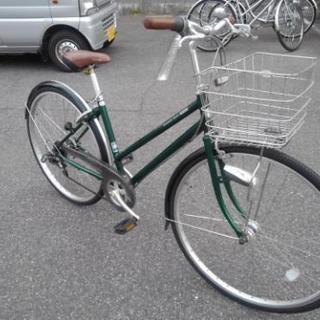 中古自転車419(防犯登録600円無料)  前後タイヤ交換! ブリ...