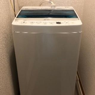 2018年製ハイアール洗濯機