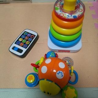 3点セット フィッシャープライス おもちゃ 赤ちゃん