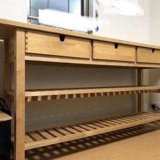 IKEA norden キッチンカウンターテーブル