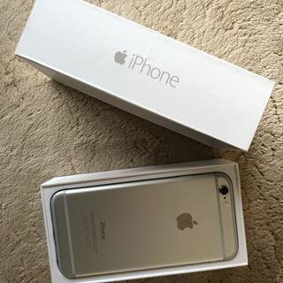 iphone6♡シルバー♡箱、新品保護シール付き