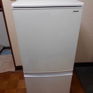 SHARP 冷蔵庫 137L 美品 2018年製