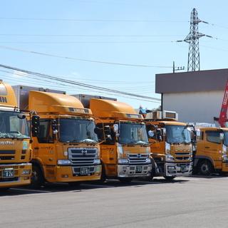【県内配送】大型トラックドライバー 安定収入