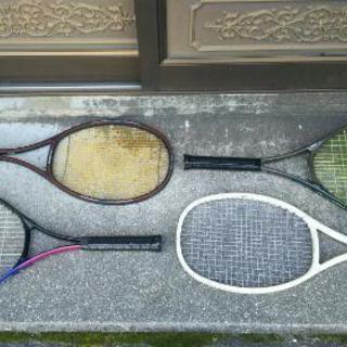値下げ・硬式テニスラケットセット4本
