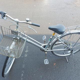PayPay対応 27インチ自転車/シティサイクル/ママチャリ 鍵...