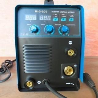 入力電源100/200V対応 ハイスペック MIG200 インバ...