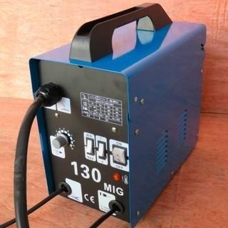 6ヶ月保証付 MIG130 ノンガス半自動溶接機 最大出力120...