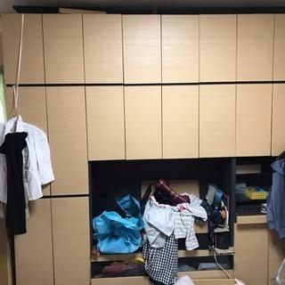 壁面収納 (TVボード・PC台・本棚・その他収納)