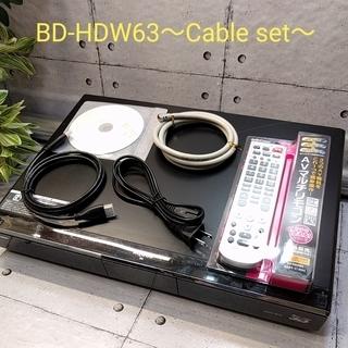 ★★ダブル録画対応★★BD-HDW63 -cable set- ...