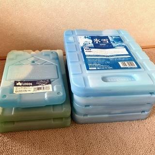 ハードプラスティックタイプ保冷材7個 保冷剤