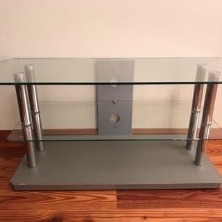 ガラスのテレビ台/テレビボード 300円OFFします🎵