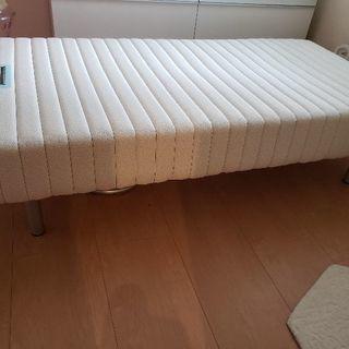 フランスベッドのシングルマットベッド新品同様