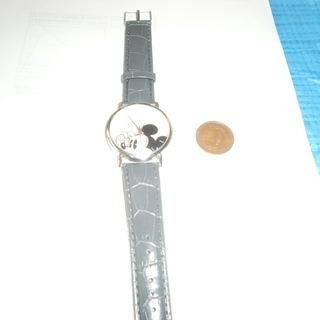 ミッキーマウス 腕時計稼働中