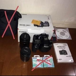 Canon 80D ダブルレンズフィルターセット
