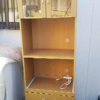 ニトリ レンジ台付き 食器棚