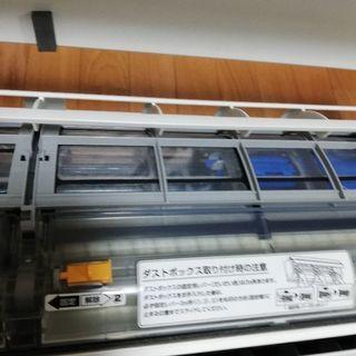 中古エアコン&取り付け工事(34000円)