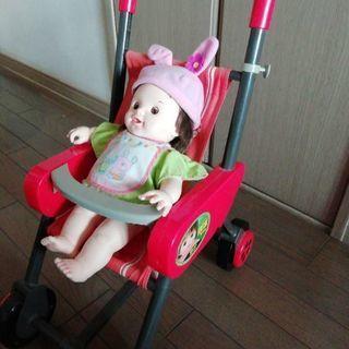 ぽぽちゃんのベビーカー