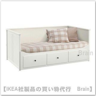 IKEAの収納付きベッド(シングル⇄ダブル)&マットレス1枚 な...