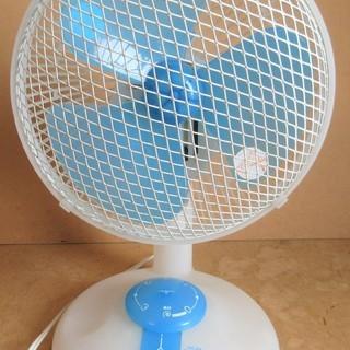 ☆タイマー付き卓上扇風機 コンパクトサイズで簡単設置◆空気…