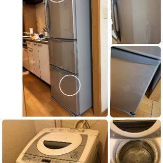 家電6点セット 冷蔵庫、洗濯機、電子レンジ、ガスコンロ、テレビ、炊飯器