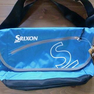新品 SRIXON テニスギア 青ショルダーバック