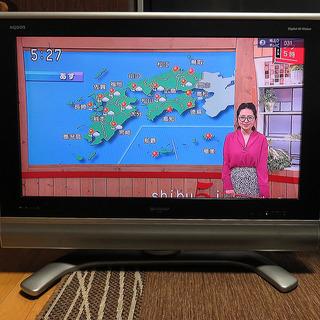 【お値下げ!】シャープ 32V型 液晶 テレビ AQUOS LC...