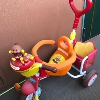 アンパンマン三輪車  処分予定のため値下げ