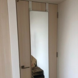 IKEA ドア掛けミラー