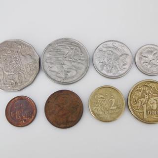 外国硬貨コレクション★オーストラリア硬貨8種
