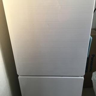 冷蔵庫 2ドア ホワイト