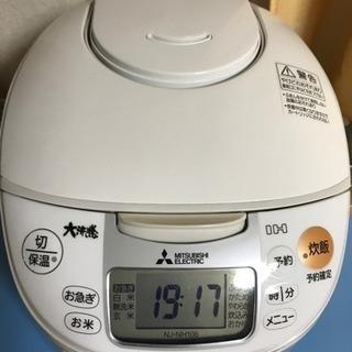 三菱IHジャー炊飯器 3,000円