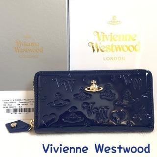 ヴィヴィアンウエストウッド 財布 正規品 新品 レディース ブル...