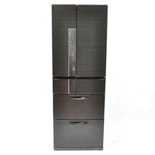 ファミリータイプ冷蔵庫 大容量525L 両開き 6ドア